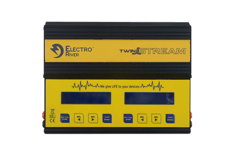 Electro River TwinStream Multiprozessor-Ladegerät