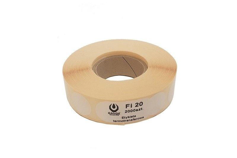 Range Solutions 2.000 Stück Schusspflaster 20mm  rund - weiss