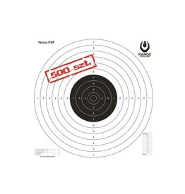 Range Solutions PSP TS-2 ISSF Target 520x520 mm - 500 pieces