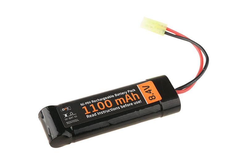 ACM Ni-Mh battery 8,4V 1,100 mAH - type block