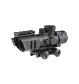 Theta Optics 4x32 RGB Zielfernrohr Rhino Weaver - BK
