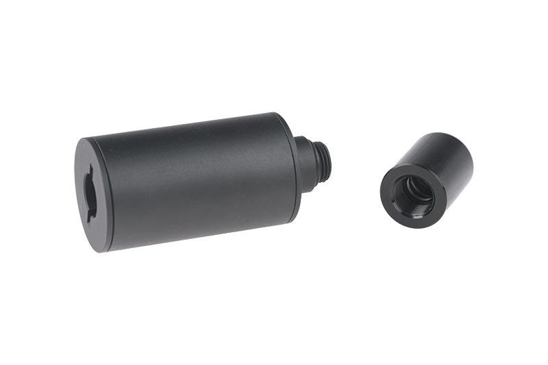 XCortech XT301 UV Compact Gun Tracer Silencer - BK
