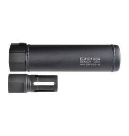 MadBull Echo1 MK1 SR556 6 QD suppressor avec Flash Hider-BK