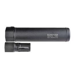 MadBull Echo1 MK1 SR556 6.75 suppresseur QD avec Flash Hider-BK