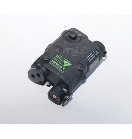 FMA Boîtier de batterie AN / PEQ-15 incl. Module laser - BK