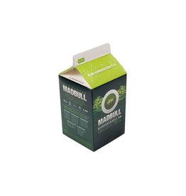 MadBull 0,25g PLA Bio BB - 3.000 Stück - weiss - Milchkarton