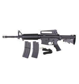 Well M4A1 Carbine Komplettset AEG 0.50 Joule - BK