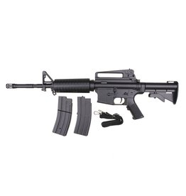 Well M4A1 Carbine Set complet AEG 0,50 Joule - BK