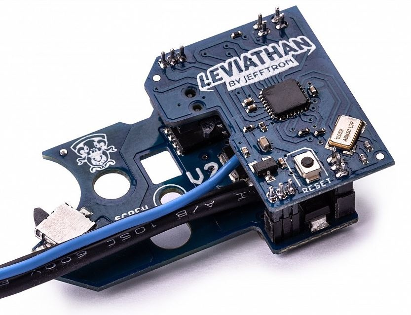 JeffTron Leviathan V2 Bluetooth MosFet avec M4 Speed Trigger - Arrière