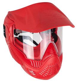 Valken Gotcha MI-3 Thermalglas Maske - rot & blau