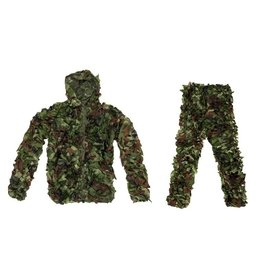 Ultimate Tactical Camouflage Ghillie Suit Set - Woodland