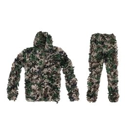 Ultimate Tactical Camouflage Ghillie Suit Set - Digital Woodland