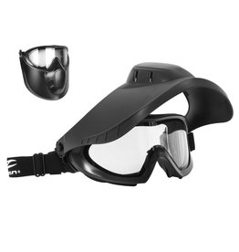 Valken Switch Mask VSM Thermal Mask - BK/clear