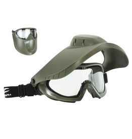 Valken Switch Mask VSM Thermal Maske - OD/clear