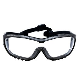 Valken Safety goggles Axis clear - BK