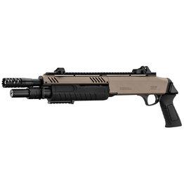 BO Manufacture FABARM STF 12-11 Short Spring 3-Burst Shotgun - TAN