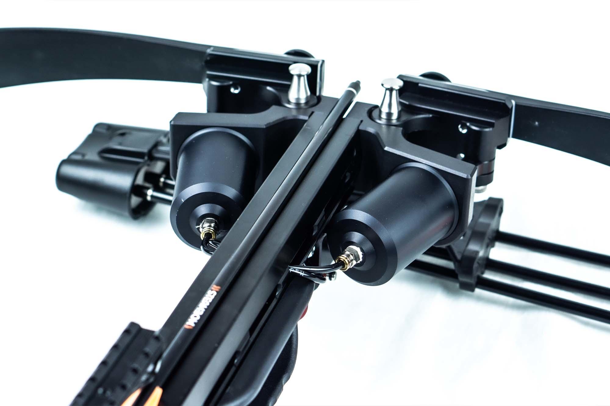 Steambow ONYX selbstspannende Armbrust AR-15 Design 225 lbs  - BK