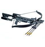 Steambow ONYX self-tightening crossbow AR-15 design 225 lbs - BK