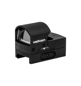 Valken Mini Hooded Reflex Red Dot Sight - BK