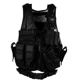 Valken taktische Weste Crossdraw Typ Swat - BK