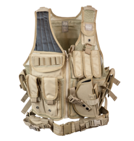 Valken tactical vest Crossdraw Type Swat - TAN