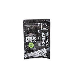 Specna Arms Edge Precesion 0,36 g BIO BB - 1000 pièces - blanc