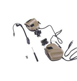Dragon Headset ERM avec support pour casque - TAN