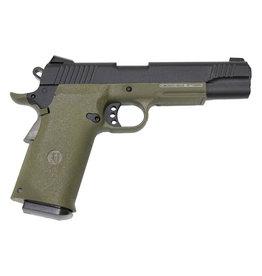 KJW KP-11 M1911 Co2 GBB - 1,2 Joule - OD