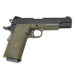 KJW KP-11 M1911 Co2 GBB - 1.2 Joules - OD