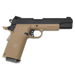 KJW KP-11 M1911 Co2 GBB - 1.2 Joules - TAN