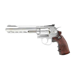 G&G G733 SV .357 Magnum 6 inch Co2 revolver 2.0 joules - silver