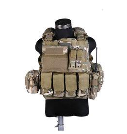 Pantac Gear CIRAS  Maritime  Releaseable Molle Armor Vest - MultiCam