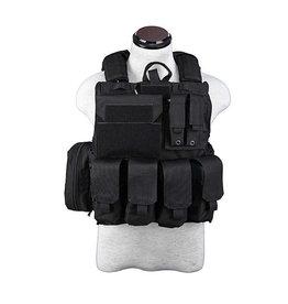 Pantac Gear CIRAS  Maritime  Releaseable Molle Armor Vest - BK