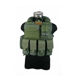 Pantac Gear CIRAS  Maritime  Releaseable Molle Armor Vest - OD