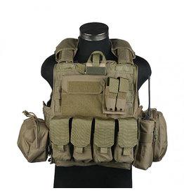 Pantac Gear CIRAS  Maritime  Releaseable Molle Armor Vest - TAN