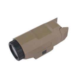 WADSN APL Scout Pistolen Flashlight 200 Lumen - TAN