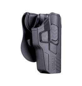 Cytac R-Defender G3 Holster pour Glock 17, 22, 31 droitier - BK