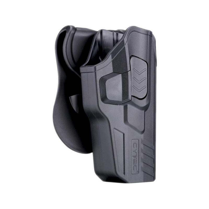 Cytac R-Defender G3 Holster for Glock 17, 22, 31 right-handed - BK