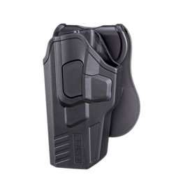 Cytac R-Defender G3 Holster für Glock 17, 22, 31 Linkshänder - BK