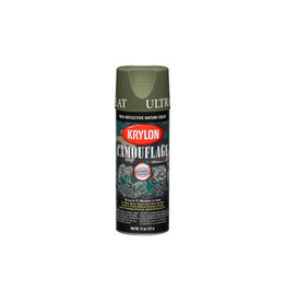 Krylon Camouflage Spray with Fusion Technology - Woodland