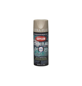 Krylon Camouflage Spray with Fusion Technology - Khaki