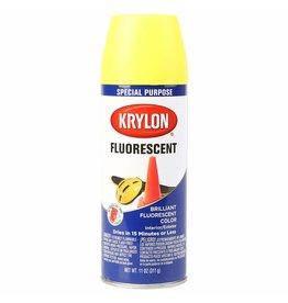 Krylon Spray de peinture fluorescent - Jaune citron