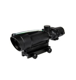 Theta Optics Red Dot 5x35 Typ Acog Weaver Green Fiber - BK
