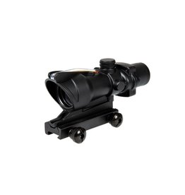 Theta Optics Red Dot 4x32 Type Acog Red Fibre - BK