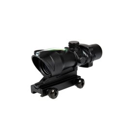 Theta Optics Red Dot 4x32 Typ Acog Green Fiber - BK