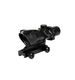 Theta Optics Red Dot 4x32 Type Acog Green Fibre - BK