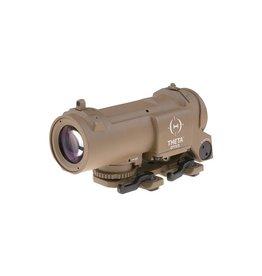 Theta Optics Lunette de visée 4x32E QD - TAN