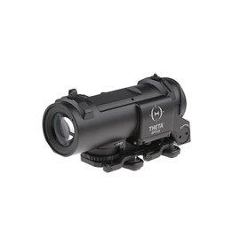 Theta Optics Lunette de visée 4x32E QD - BK