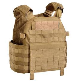 OUTAC Molle Plate Carrier Vest 1000D - TAN