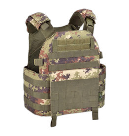 OUTAC Molle Plate Carrier Vest 1000D - Vegetato Italiano